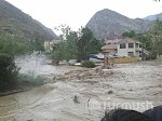 Deadly mudflow hits the town of Kadamjay, southern Kyrgyzstan