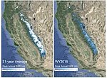 Sierra Nevada not expected to restore its snowpack to pre-drought levels before 2019