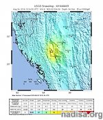 Very strong M6.8 earthquake hits Myanmar