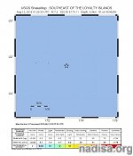 Strong and shallow M7.2 earthquake hit southeast of the Loyalty Islands, New Caledonia