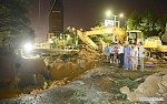 Giant sinkhole swallows 4 people and 3 cars in the Chinese city of Zhengzhou