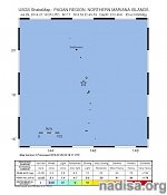 Very strong M7.7 earthquake at intermediate depth hits Northern Mariana Islands