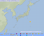 Strong and shallow M6.3 earthquake hits off the coast of Japan