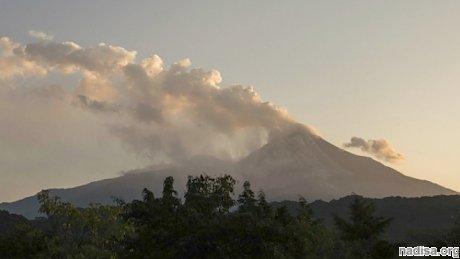 Вулкан Колима вновь напомнил о себе