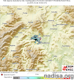 Another shallow earthquake shakes Skopje, Macedonia