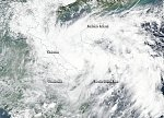 Tropical depression «Aere» re-born, flooding reported in central Vietnam