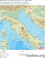 Shallow M6.0 earthquake hits central Italy