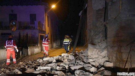 Землетрясение в Италии: не менее восьми человек пострадали в Фабриано