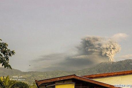 На Коста-Рике продолжает «пыхтеть» вулкан Турриальба