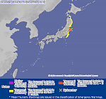 Massive M7.3 earthquake hits near Fukushima, tsunami warnings issued