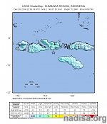 Strong M6.2 earthquake hits Indonesian Sumbawa region