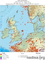 M3.8 earthquake strikes Britain, the largest since 2008