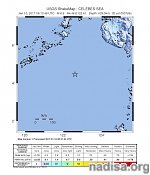 Very deep M6.9 earthquake hits off the coast of Philippines