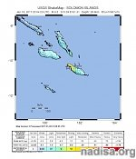 Strong and shallow M6.5 earthquake hits Solomon Islands