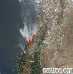 Worst wildfires in Chile's modern history