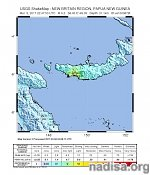 Strong and shallow M6.3 earthquake hits Papua New Guinea
