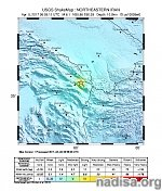 Strong and shallow M6.1 earthquake hits northeastern Iran