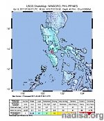 Strong M5.9 earthquake hits Mindoro, Philippines