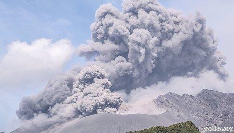 В Японии проснулся вулкан Сакурадзима