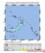 Strong and shallow M6.2 earthquake hits New Ireland, Papua New Guinea