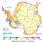 NASA study claims Antarctica gains ice, not contributing to sea level rise