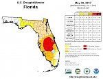 7 days of rain pull Florida out of extreme drought