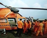 Rescue helicopter crashes after eruption at Mount Dieng, Indonesia