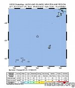 Strong and shallow M6.4 earthquake hits near Auckland Islands, New Zealand