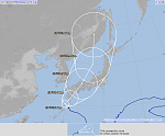 Typhoon «Noru» strengthening south of Kyushu, landfall expected August 6