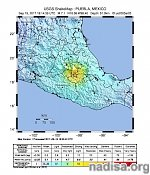 Extremely dangerous M7.1 earthquake hits Puebla, Mexico