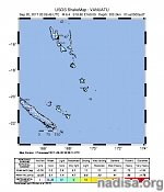 Strong and deep M6.4 earthquake hits Vanuatu