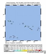 Strong M6.6 earthquake hits Rat Islands at intermediate depth, Alaska