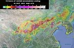 At least 23 killed as floods and landslides hit China, 2.8 million affected