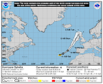 Record-breaking Hurricane «Ophelia» to pass SE of Azores before hitting Ireland and UK