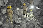 Mountainside collapse in Oman leaves several people trapped