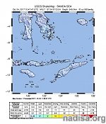 Strong, very deep M6.7 earthquake hits off the coast of Indonesia