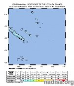 Very strong and shallow M7.0 earthquake off the coast of New Caledonia