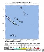 Strong and shallow M6.4 earthquake hits Loyalty Islands, New Caledonia