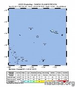 Strong and shallow M6.0 earthquake hits near Wallis and Futuna, Pacific Ocean