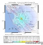 More than 130 quakes after M4.6 NE of Gonzales, California