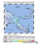 Strong M6.0 earthquake hits Papua New Guinea