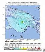 M6.0 aftershock hits Papua New Guinea, 4th M6+ after M7.5 on February 25