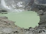 White Island's Crater Lake reforming after recent cyclones, New Zealand
