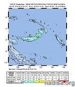 Strong and shallow M6.6 earthquake hits New Britain, Papua New Guinea