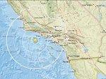 В Калифорнии было ощутимым землетрясение магнитудой 5,3