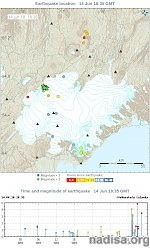 Earthquake swarm detected under Bardarbunga volcano, Iceland
