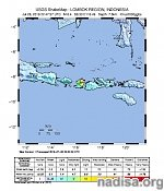 Strong and shallow M6.4 earthquake hits Lombok region of Indonesia