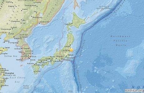 Новое землетрясение в окрестностях «Фукусимы»