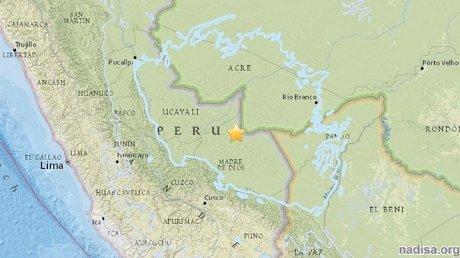 Землетрясение в Перу магнитудой 7,1 произошло на границе с Бразилией и Боливией