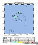 Very strong and deep M7.8 earthquake hits Fiji